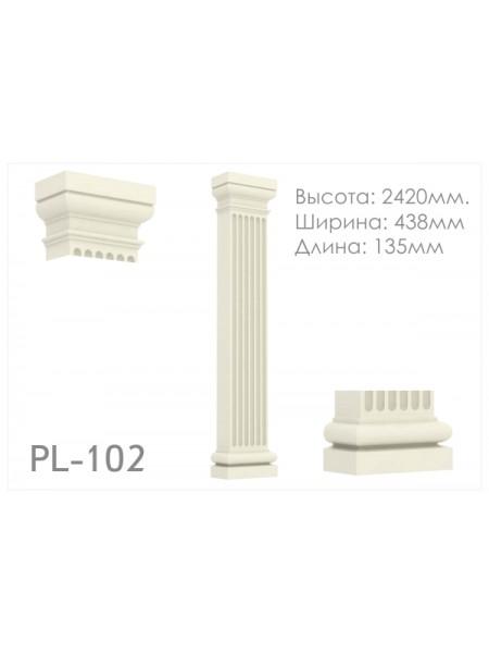Пилястра  PL102
